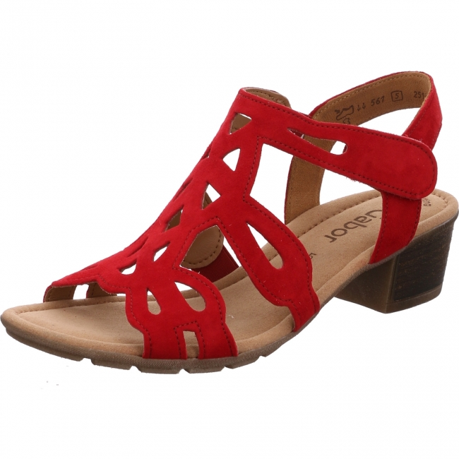 Gabor Shoes 44.561.15 Gabor Sandale rot