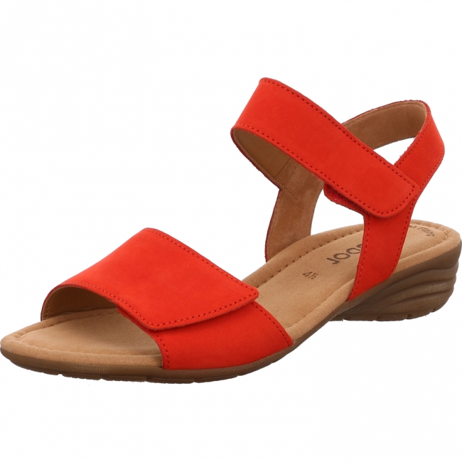 Gabor Shoes 44.552.15 Gabor Sandale rot