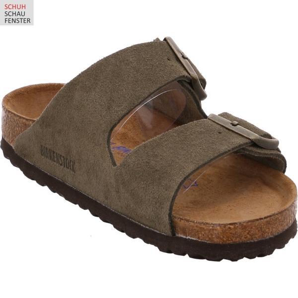 Birkenstock 1011300 Arizona Velour SFB